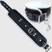 BFW1 - Gepolsterte Knöchel Manschette - schwarz / weiß