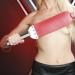 WPRL - Große rote Paddel mit Edelstahl-Griff