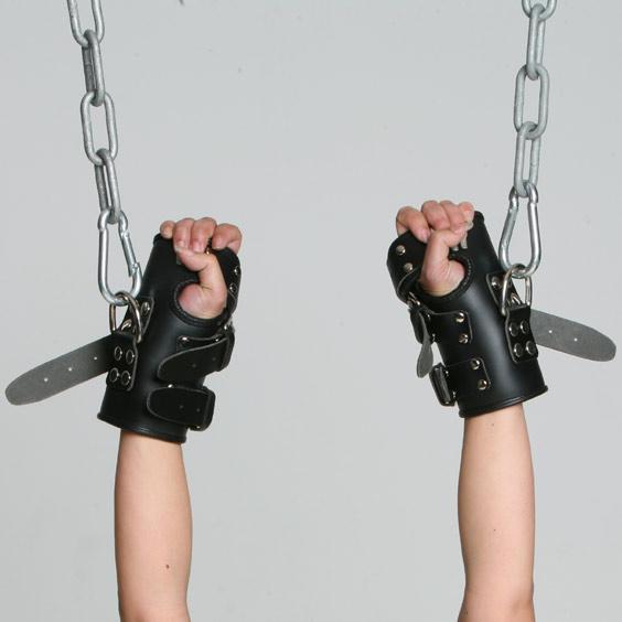 Leather Manschetten Bondage Videos weiblich