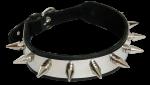 BNMP - Lederen Collar met spikes