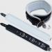 BNW3 - Luxe gevoerde Halsboei - zwart/wit 7cm breed