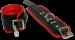 BHR1 - Padded Wrist Cuff Black/red