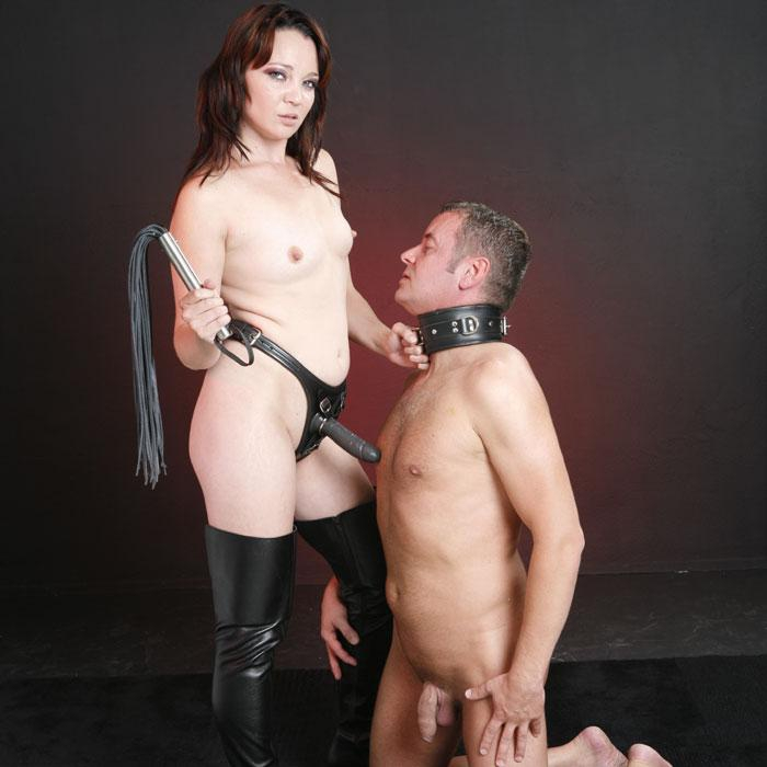 Leather Strapon